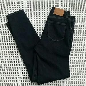 J.Crew lookout high rise skinny dark wash jeans